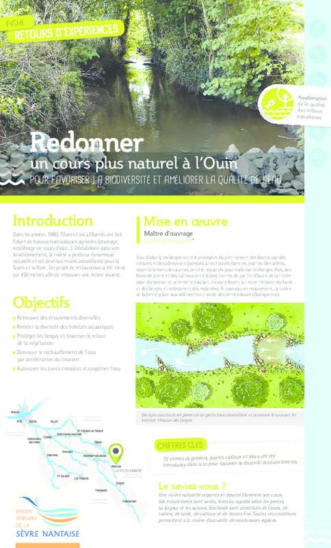 Redonner un cours plus naturel à l'Ouin pour favoriser la biodiversité et améliorer la qualité de l'eau - application/pdf