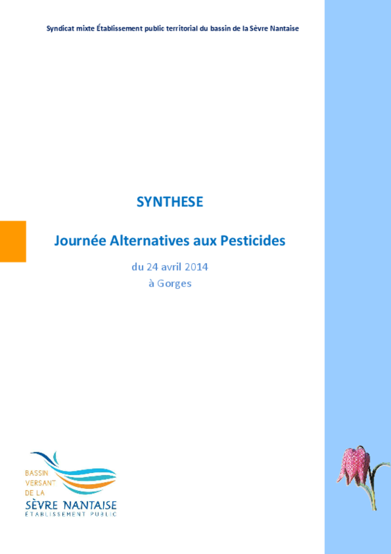 Synthèse de la journée Alternative aux pesticides - application/pdf