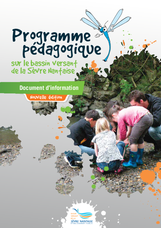 Programme pédagogique du bassin versant de la Sèvre Nantaise, document d'information 2016 - application/pdf