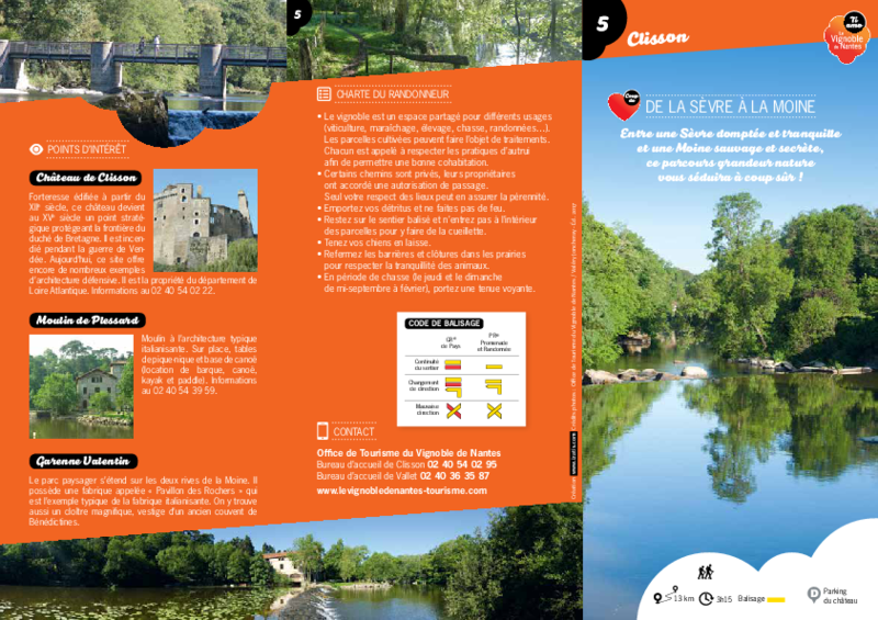 "Rando-guide ""De la Sèvre à la Moine"" - Clisson - application/pdf"