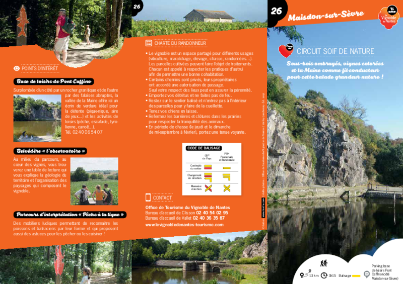 "Rando-guide n° 26 ""Circuit soif de nature"" - Maisdon-sur-Sèvre - application/pdf"