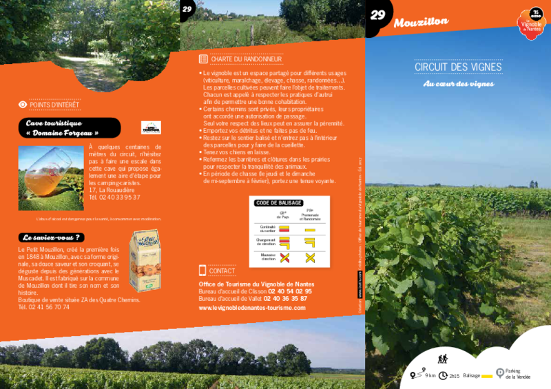 "Rando-guide n°29 ""Circuit des vignes"" - Mouzillon - application/pdf"