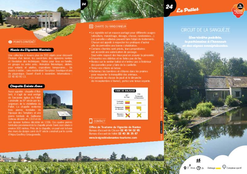 """Rando-guide n° 24 """"Circuit de la Sanguèze"""" - Le Pallet - application/pdf"""