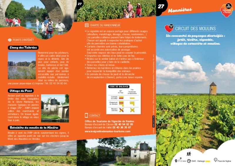 """Rando-guide n° 27 """"Circuit des Moulins"""" - Monnières - application/pdf"""
