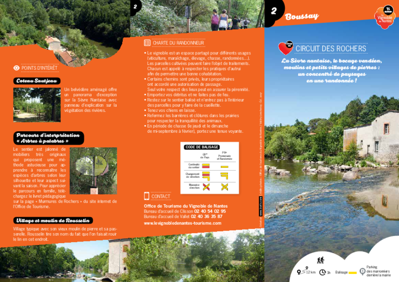"Rando-guide n° 2 ""Circuit des Rochers"" - Boussay  - application/pdf"