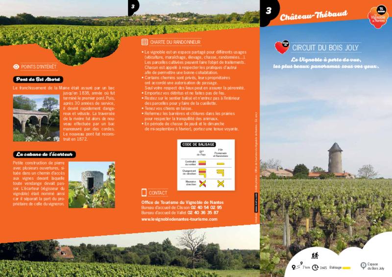 "Rando-guide n° 3 ""Circuit du Bois Joly"" - Château-Thébaud - application/pdf"