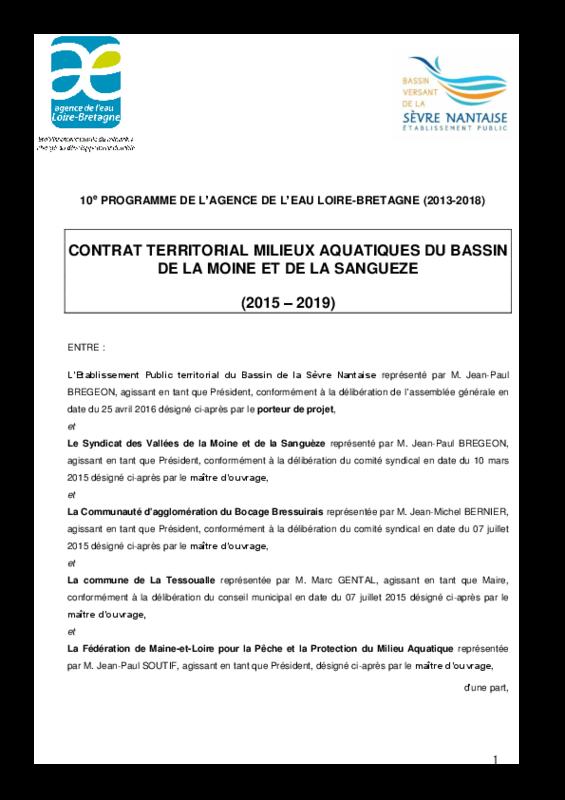 Contrat territorial milieux aquatiques du bassin Moine-Sanguèze - application/pdf