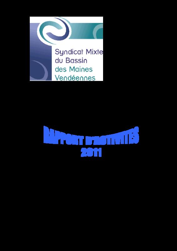 Rapport d'activité 2011 du SMBV - application/pdf