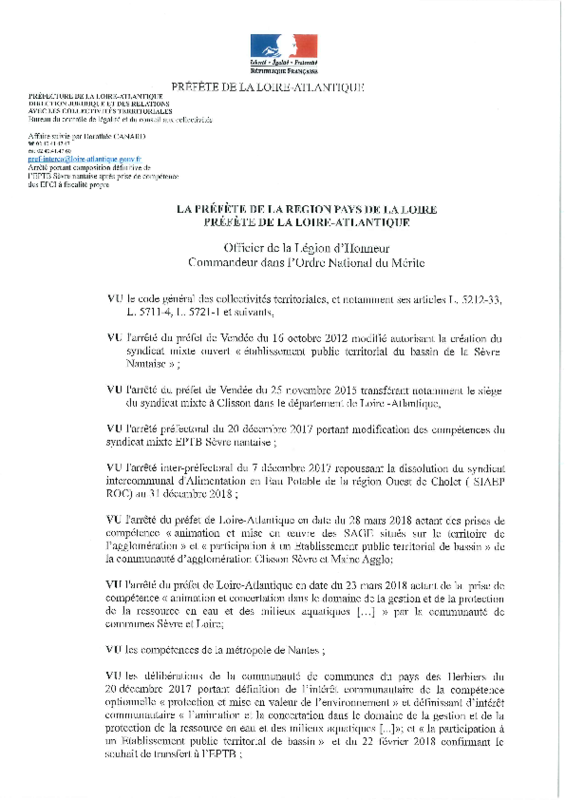 2018 Arrête de composition de l'EPTB SN - application/pdf