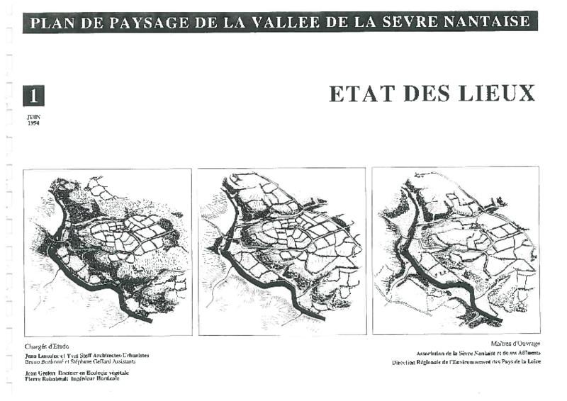 Plan de paysage de la vallée de la Sèvre Nantaise - Etat des lieux - application/pdf