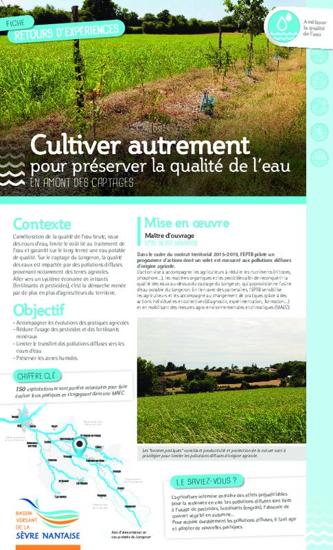 Cultiver autrement pour préserver la qualité de l'eau en amont des captages - application/pdf